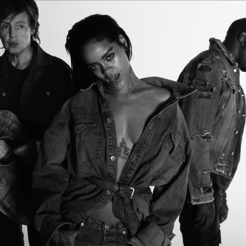 Rihanna, Kanye West, Paul McCartney<br/>FourFiveSeconds